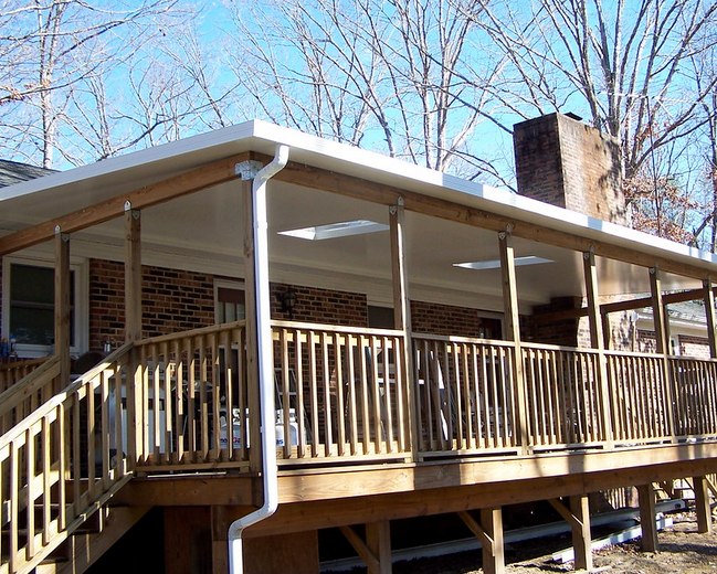 Patio Covers Protect Decks and Homes